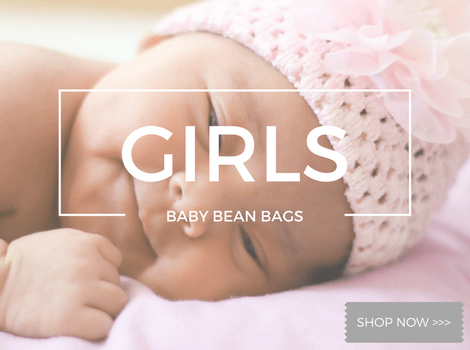 Girls Baby Bean Bags