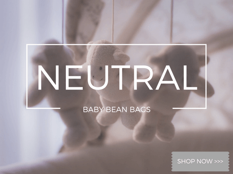 Neutral Baby Bean Bags