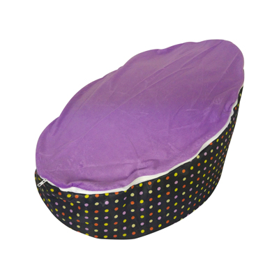 purple sherbet baby bean bag image