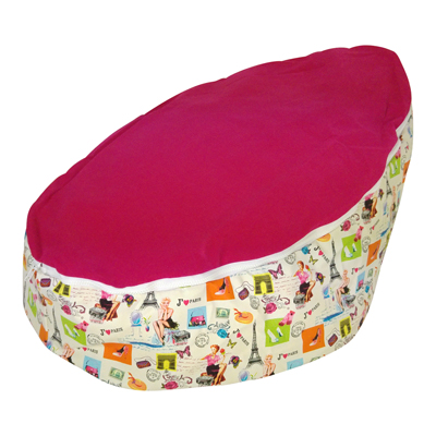 paris baby bean bag image