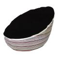 black top baby bean bag image