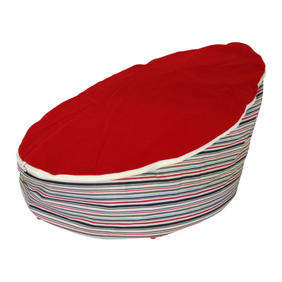 nautical red baby bean bag image