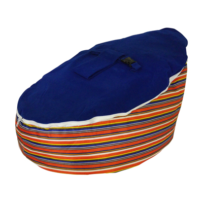 circus stripe bean bag image