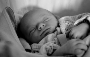 sleeping baby image