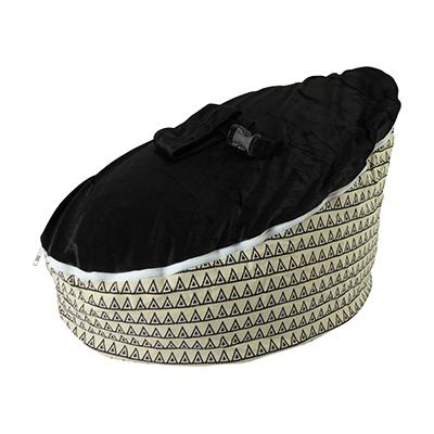 bunting-black-top-baby-bean-bag-image