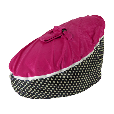 polka-dot-fuchsia-baby-bean-bag-image